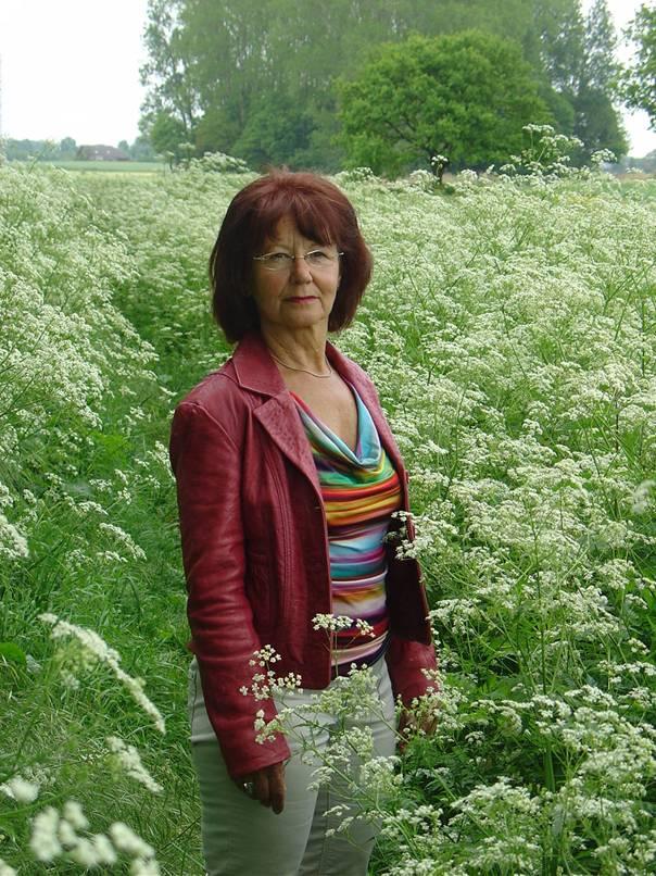Kunstenares Louise Bierhuizen